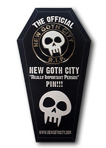 New Goth City Pin