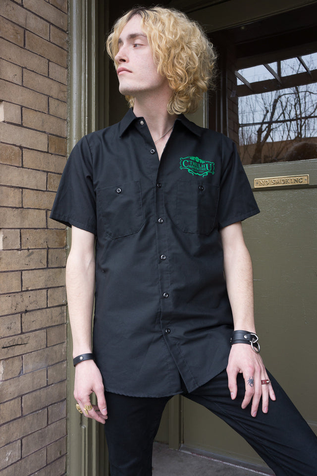 Cthulhu Absinthe Workshirt