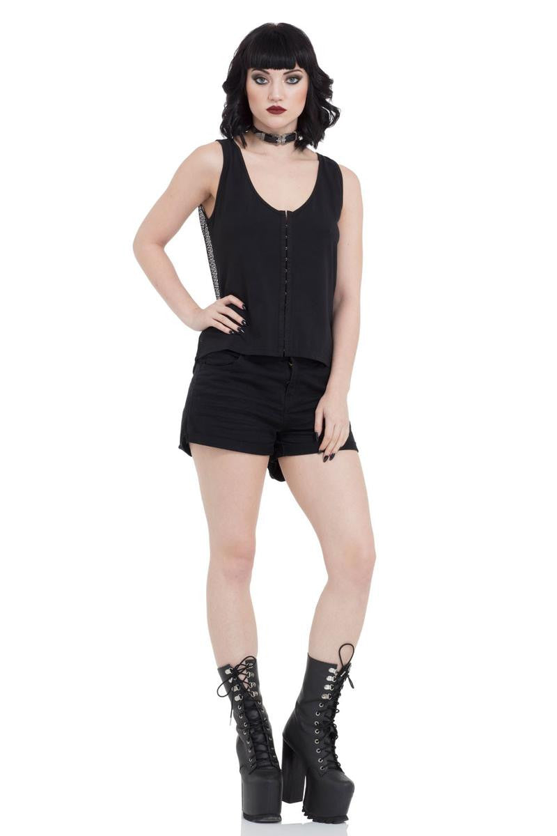 TPA1822 Net Tank Top