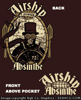 Airship Absinthe Workshirt