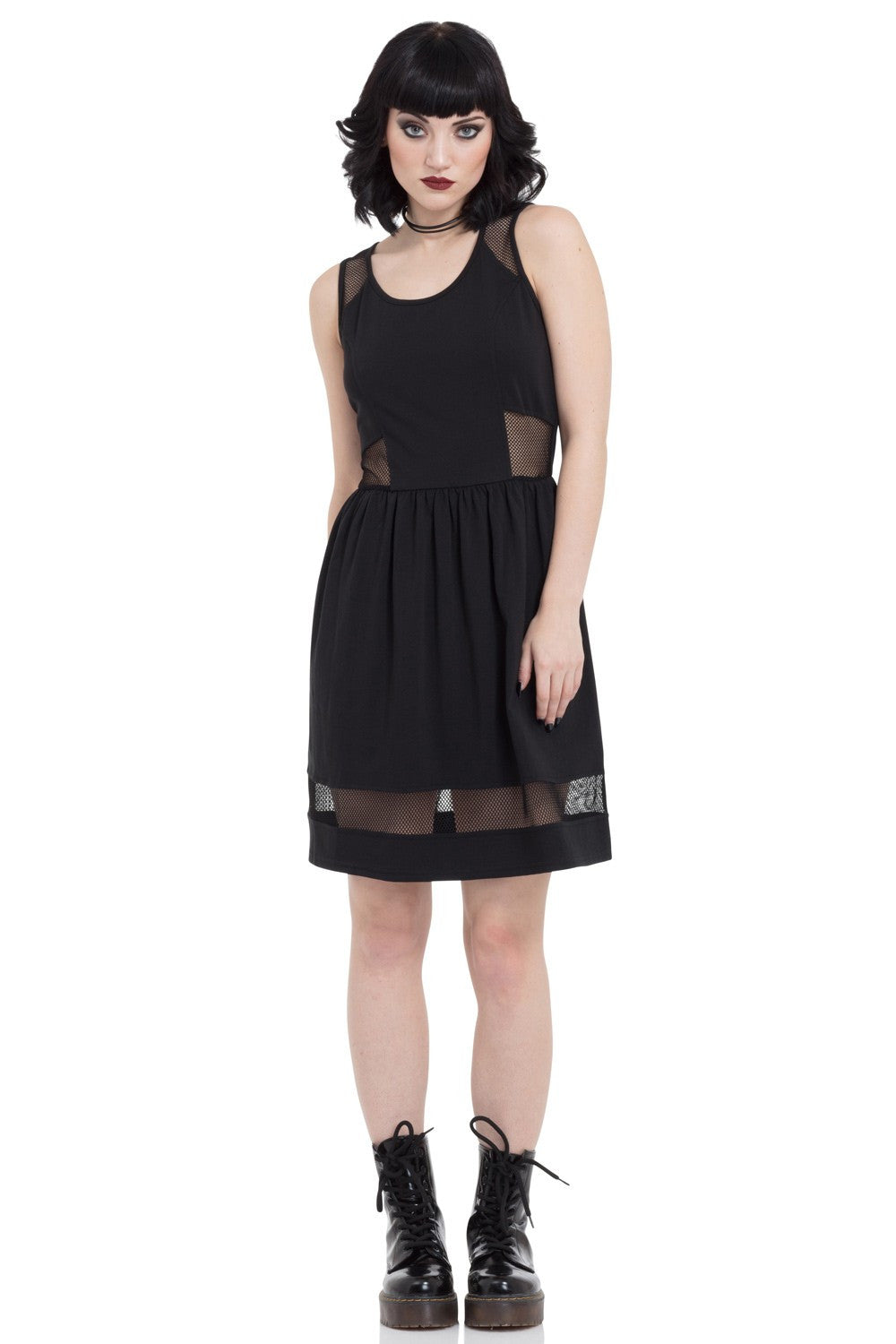 DRA8361 Net Dress