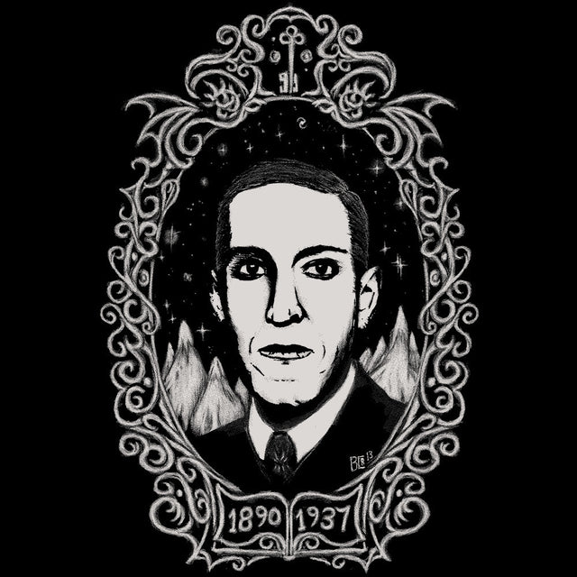 Lovecraft Portrait BD Tee