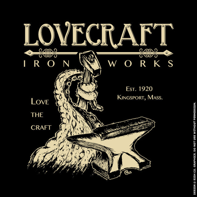 Lovecraft Iron Works Tshirt