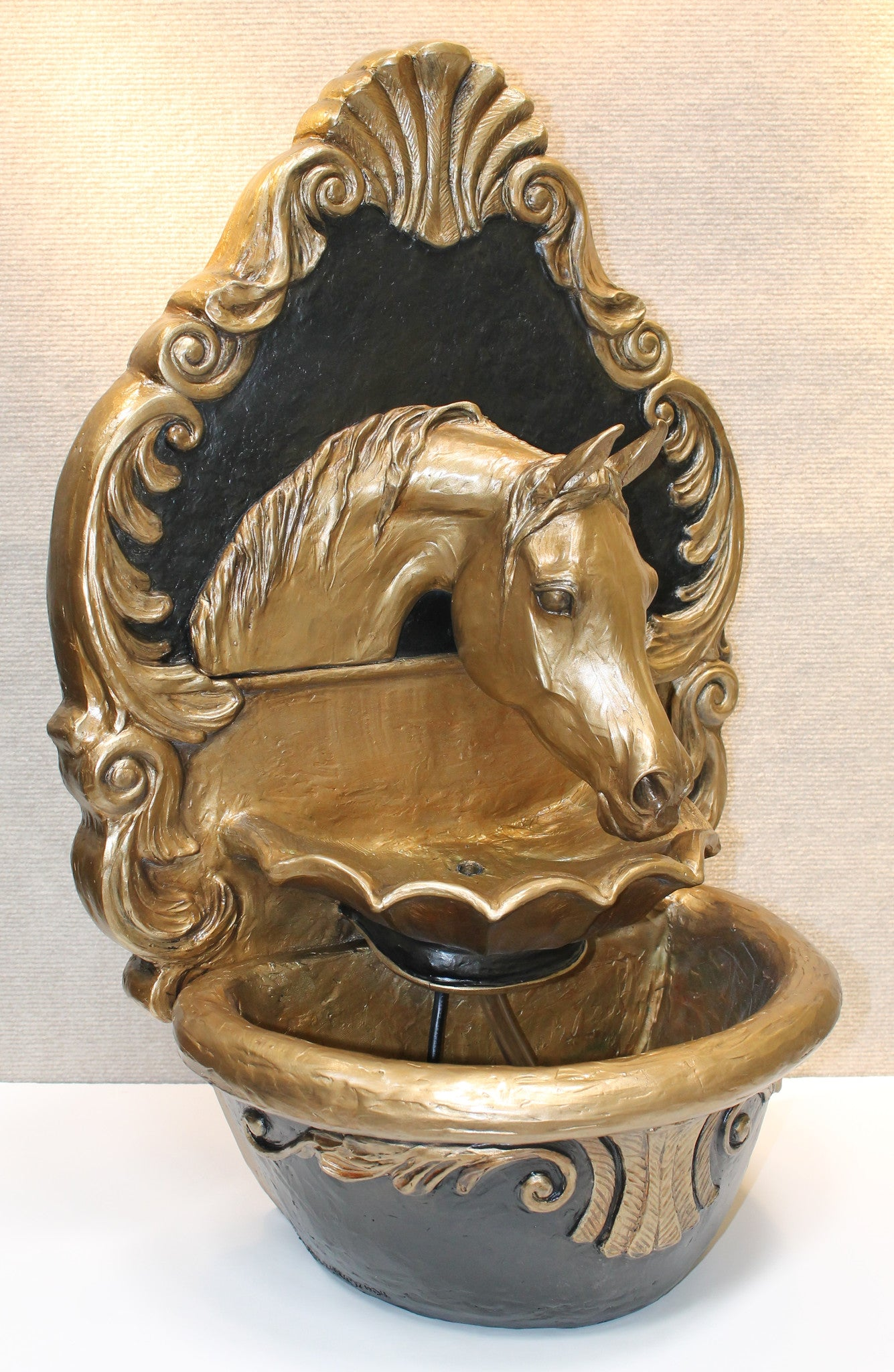 Arabian Horse Fountain (Royal Baroque) - Patricia Borum - 2