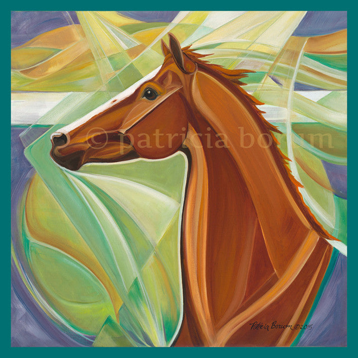 California's Race Horse Print - Patricia Borum