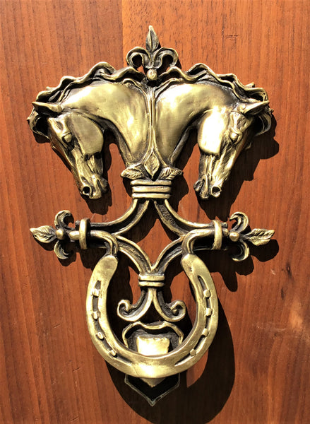 Horse Head Door Knocker - Patricia Borum - 1