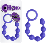 "Choke - 9.5"" Silicone Butt Beads (Lavender)"