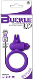 Buckle Up - USB Silicone Rabbit Cockring (Lavender)