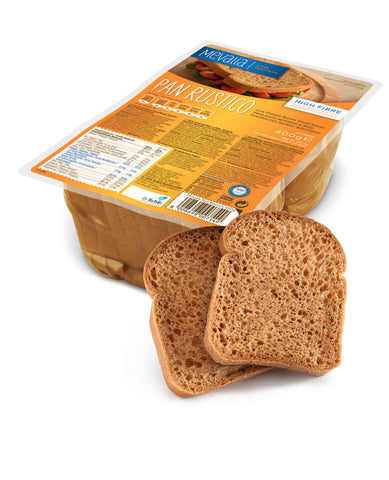 PAN RUSTICO - Low protein Brown Sliced Bread - 20% OFF