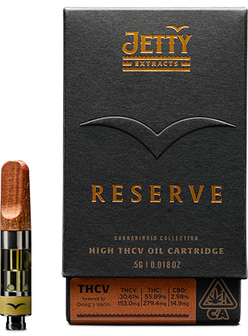 Jetty x Doug's Varin™ High THC-V Reserve Cartridge .5g