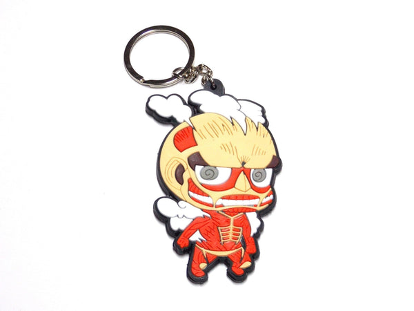 Attack on Titan Chibi Anime Keychain key chain - Keychain - Nurdtyme