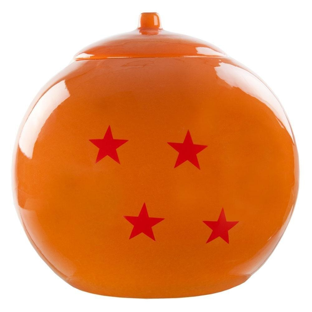 Dragonball Z - 4 Star Dragon Ball Logo Lidded Cookie Jar Anime - Cookie Jar - Classic Imports
