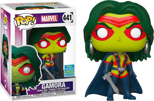 Funko POP! Marvel: Gamora #441 - 2019 SDCC Exclusive - Funko Pop - Nurdtyme