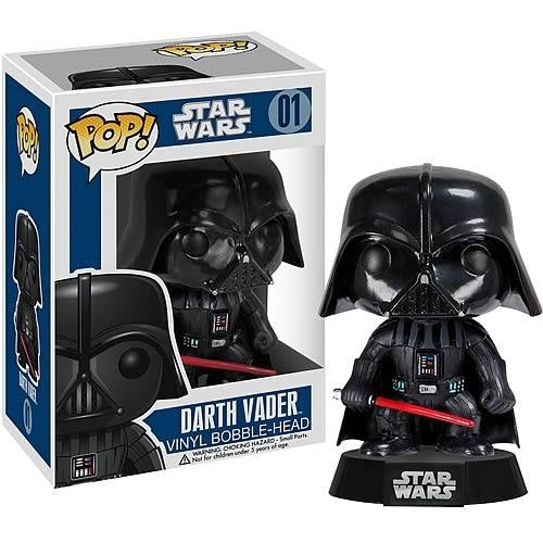 Funko Star Wars Darth Vader Pop! Vinyl Figure Bobble Head - Funko Pop - Nurdtyme