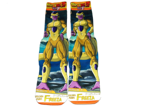 Golden Frieza DragonBall Z Resurrection F Novelty Socks - socks - Nurdtyme