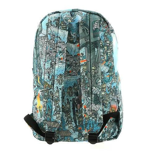 Star Wars Empire Strikes Back Hoth Battle Loungefly Backpack - Backpack - Nurdtyme