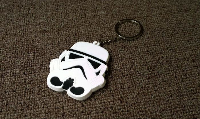 Star Wars Storm Trooper PVC Keychain key chain Pendant