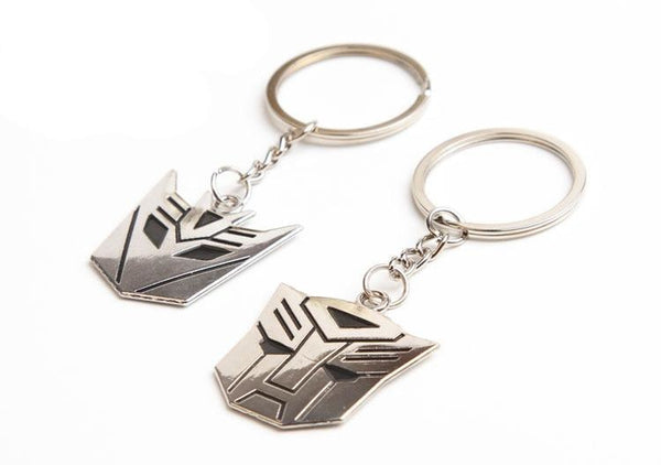 Transformers Decepticon and Autobots Keychain key chain - Keychain - Nurdtyme