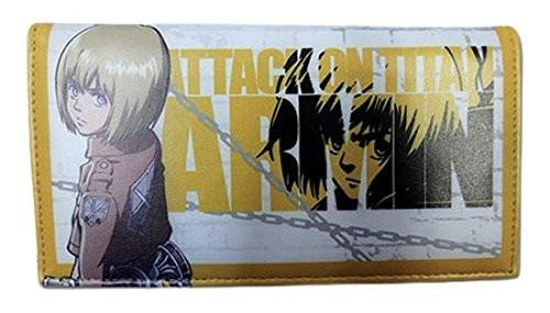 Wallet - Attack on Titan - Armin Girl Style Toys Anime Licensed - Wallet - Nurdtyme