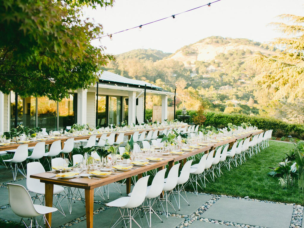 planning your outdoor backyard wedding tips from a bride