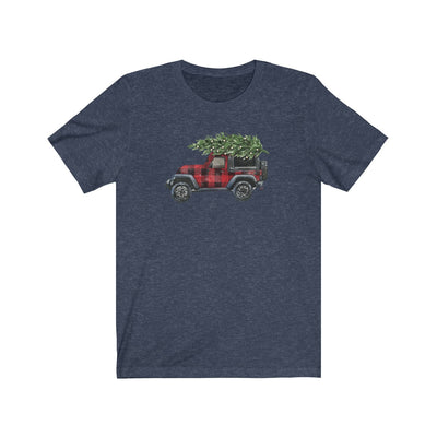 Christmas Truck Merry Christmas Women's Graphic Tee