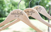 Personalized Bridesmaid Wedding Hanger with date