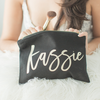 Bridesmaid Makeup Bag Bridesmaid Gift - Black, Tote Bag, The White Invite, The White Invite - The White Invite