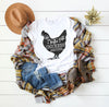 Life is Better with Chickens Shirt, Women's T-shirt, Farm Shirt, Funny Graphic Tee, Chicken Lover, Southern Vibe, Unisex Tshirt, Quote Shirt, T Shirt, thewhiteinvite, The White Invite - The White Invite