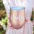 SWIG Rose Gold, Pearl, or Gold Wine Tumbler Faye Font with Slide Lid Option & Straw