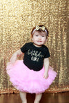 LIVE SALE Birthday Outfit Girl, 1st Birthday Girl Outfit Pink Gold, Birthday Shirt, Pink Birthday Tutu, Cake Smash Outfit, Tutu, thewhiteinvite, The White Invite - The White Invite