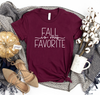 Fall is my Favorite Women's Graphic Tee
