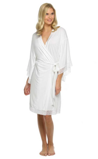 Jersey Lace Bridesmaid and Bridal Robes