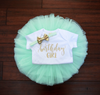 LIVE SALE Birthday Outfit Girl, First Birthday Girl Outfit Mint Gold, Birthday Shirt, Mint Birthday Tutu, Cake Smash Outfit, Tutu, thewhiteinvite, The White Invite - The White Invite
