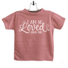 I am so Loved John 3:16 Infant and TODDLER SHIRT GRAPHIC TEE, T Shirt, thewhiteinvite, The White Invite - The White Invite