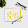 Traditional Monogram Personalized Stationery Set