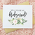 Succulent Floral Will You Be My Bridesmaid Cards