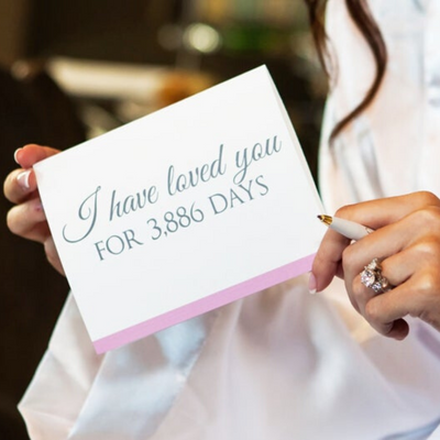 I Have Loved You for so Many Days Card From the Bride Gift or From the Groom Gift