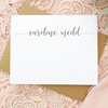 Personalized Stationery Note Card Set Center