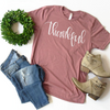 Thankful Graphic Tee, T Shirt, thewhiteinvite, The White Invite - The White Invite