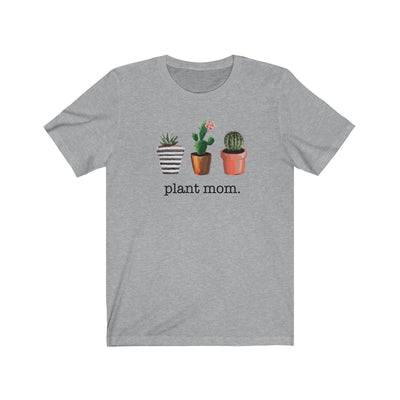 PLANT MOM PLANT LOVER WOMEN'S GRAPHIC TEE front