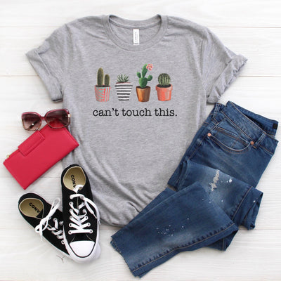Cant Touch This Plant Lover Women's Graphic T Shirt