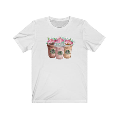 Starbucks Coffee Lover Women's Graphic T-Shirt, T-Shirt, Printify, The White Invite - The White Invite