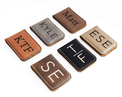 6 Style Options of Personalized Money Clip