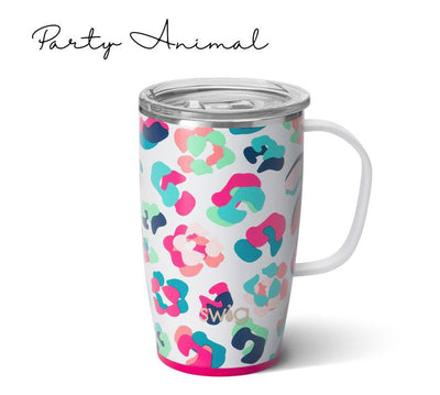 party animal SWIG Personalized Coffee Mug