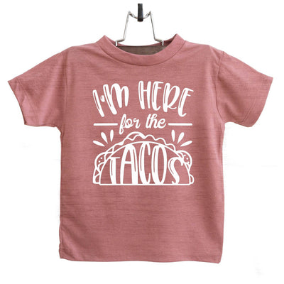 I'm Here for the Tacos Infant and TODDLER SHIRT GRAPHIC TEE, T Shirt, thewhiteinvite, The White Invite - The White Invite