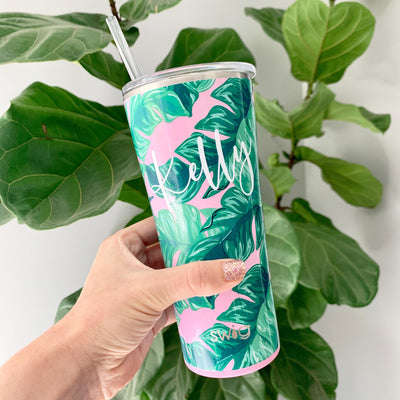 Palm Springs Tumbler with Lid