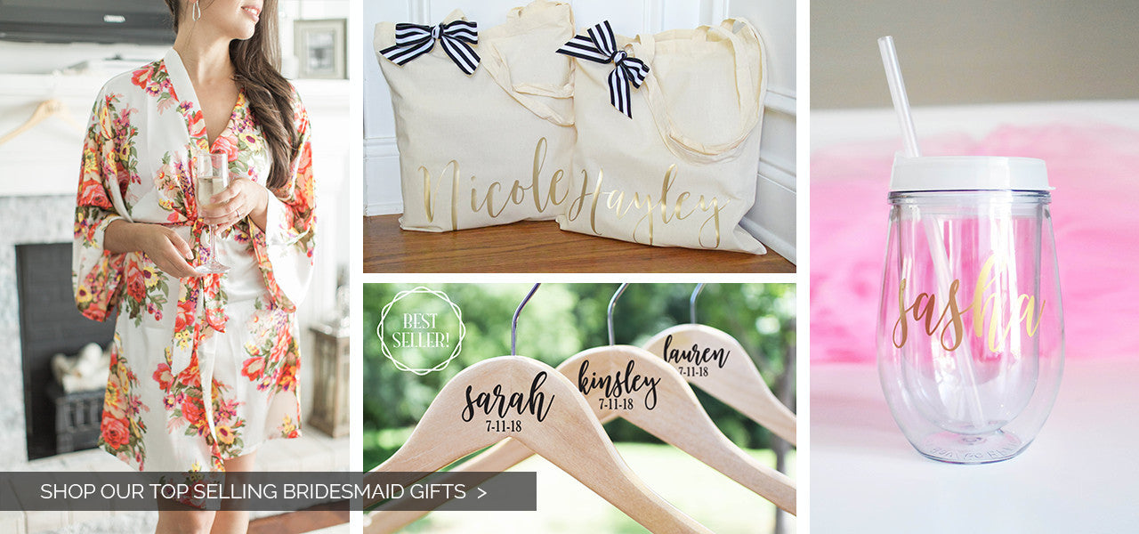 Top selling bridesmaid gifts