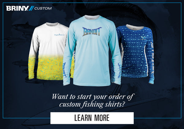 Start your custom fishing shirts online now