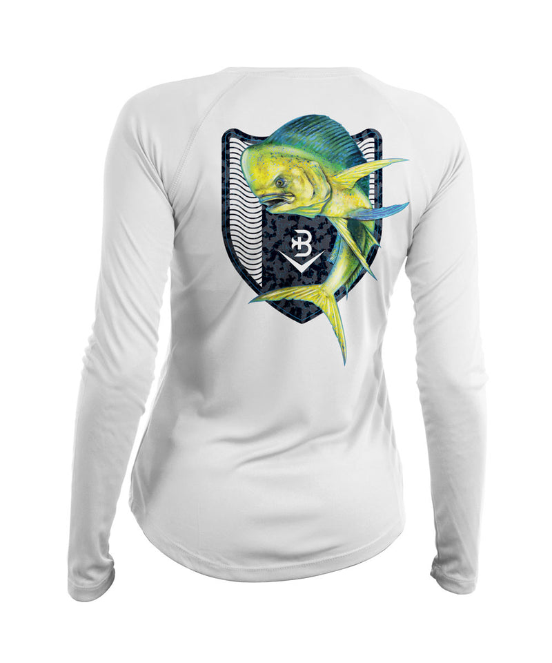 women's uv fishing shirts mahi