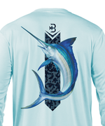 premium performance mens long sleeve fishing shirts marlin